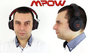 MPOW H1 Bluetooth Headphones Review