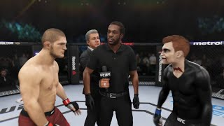 Khabib vs. Billy Silence (EA Sports UFC 3) ☝️🦅