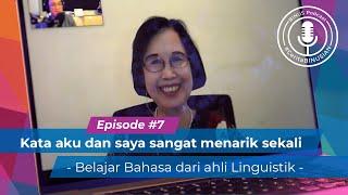 #BINUSPodcast Episode 7 -Dra.Ienneke Indra D, S.Th.,M.Hum: Kata aku & saya menjadi menarik