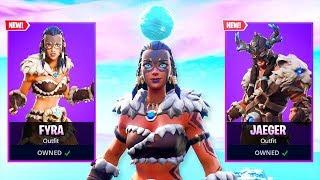 The New PRIMAL HUNTER Skins in Fortnite!