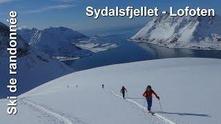 Ski de randonnée : îles Lofoten - Sydalsfjellet 736 m