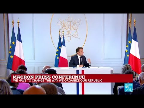 Macron: 'To implement the reform we need to disband the Ecole Nationale d'Administration'