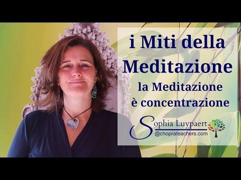 Olisticmap - i Miti della Meditazione: la meditazione è concentrazione