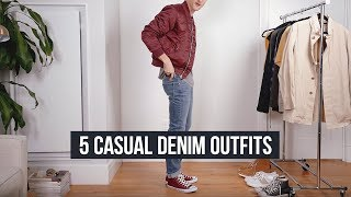 5 Casual Denim Looks   High-Quality Men's Jeans   J. Brand, AG Jeans And More