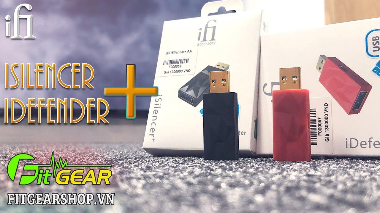 IFI iDEFENDER+ iSILENCER+ | Thiết bị không thể thiếu dành cho tín đồ âm thanh