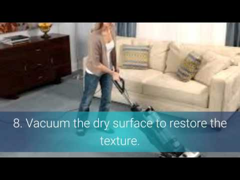 How Do You Clean Vomit From Carpet| Remove Vomit Odors