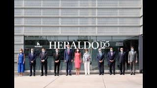 Sus Majestades los Reyes en la Conmemoración del 125º aniversario de Heraldo de Aragón