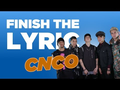CNCO Cover Bruno Mars, Little Mix & More | Finish The Lyric | Capital