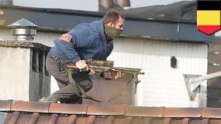 Brussels anti-terror raid: one gunman dead after apartment raid linked to Paris attacks - TomoNews