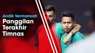 Andik Vermansyah Gantikan Saddil Ramdani yang Mungkin Dicoret dari Timnas Indonesia