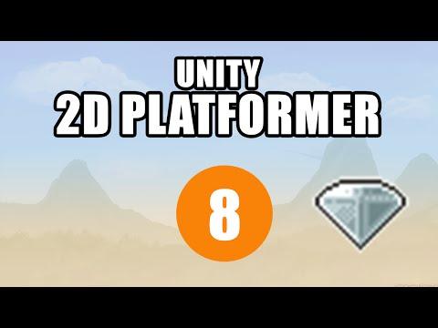 Unity 2D Platformer Tutorial • 8 • Collectables [Noob Friendly][C#]