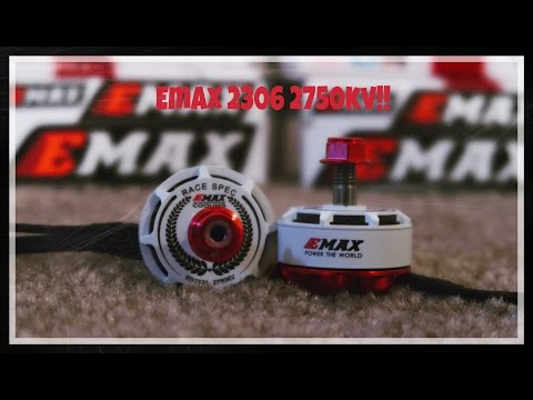 Testing New 2306 Emax Red Bottoms 2750kv!!!