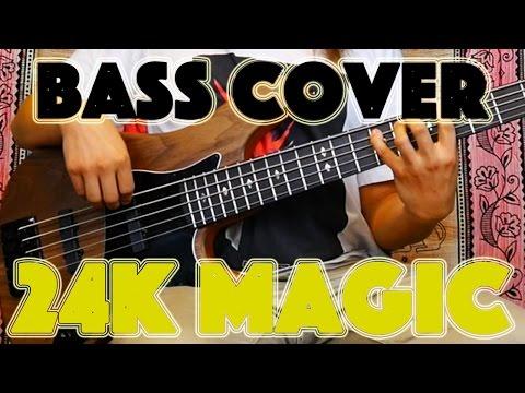 Bruno Mars- 24k Magic (Bass Cover) Kevin Ryan