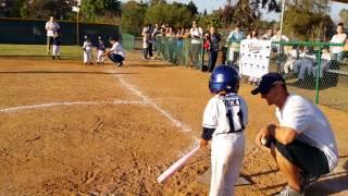 JR T BALL GAME 1 in Lemon Grove little league