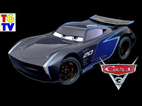 Jackson Storm Lightning McQueen from Cars 3 Movie