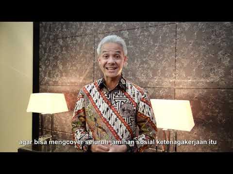 Testimoni Gubernur Jawa Tengah tentang Pentingnya Jaminan Sosial dari BPJS Ketenagakerjaan.