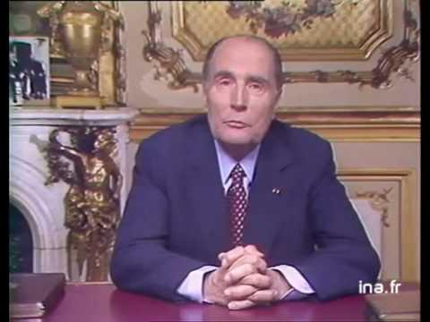 Vidéo de François Mitterrand