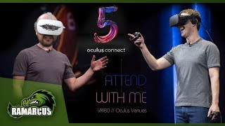 Attend the Oculus Connect 5 event with me! // Oculus Venues VR180