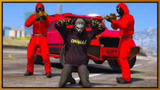 GTA 5 Roleplay - SQUID GAME GUARDS TROLL COPS | RedlineRP