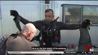 Telemundo – Inmates of a Prison in Chino prepare to integrate into society through Diving