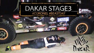 Stage 3 Dakar; tough challenge for Coronel in the dunes of Peru, 2018
