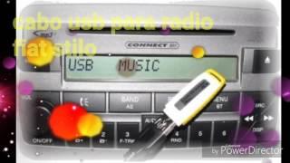 Cabo USB Para Radio Fiat Stilo Faça Você Mesmo