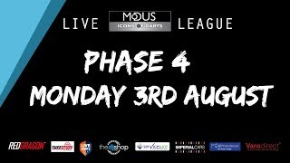 The MODUS ICONS OF DARTS LIVE LEAGUE - MONDAY 3RD AUGUST