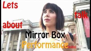 Milo Moire  Mirror Box - Реакция пользователей Fishki и Российского Интернета в общем