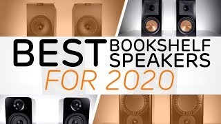 Best Bookshelf Speakers To Buy In 2020