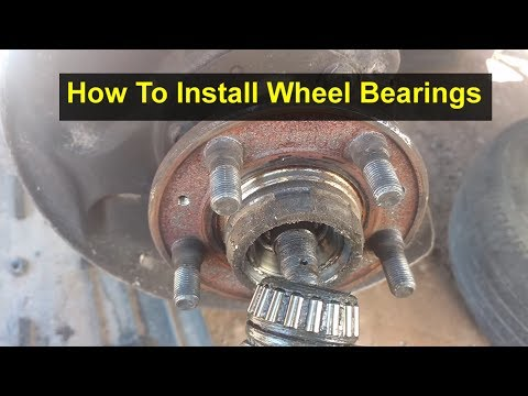 Wheel bearing installation on must vehicles and red block Volvo cars. - VOTD