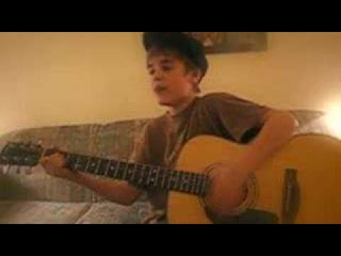Cry me a River - Justin Timberlake cover - Justin singing (Justin Bieber)