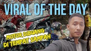 Viral Hari Ini: Motor Ditemukan di Tumpukan Sampah