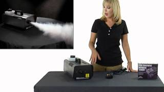 How To Set Up and Use our Fog Machine for Halloween