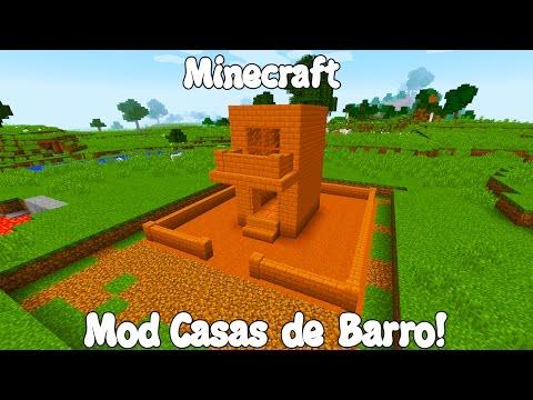 Minecraft 1.11 MOD SUPER CASAS DE BARRO! Adobe Blocks 2 Mod Español!