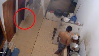 कैमरे में कैद असली भूत | 5 Scary Paranormal Videos