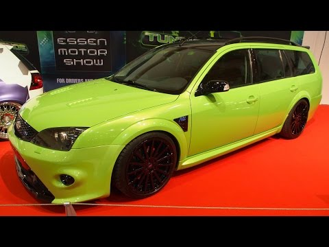 Ford Mondeo MK3 ST220 Turnier Tuning at Essen Motorshow - Exterior Walkaround