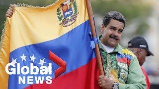 Crisis de Venezuela: miles de partidarios de Nicolás Maduro marchan a través de Caracas