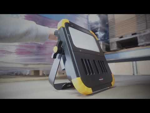 brennenstuhl® - BLUMO mobiler Akku LED Strahler 🎵