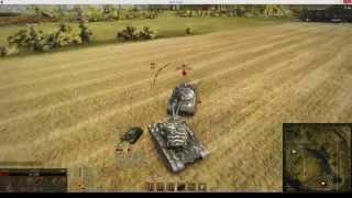Т110Е5 против ИС 7