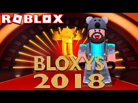 WATCH THE ROBLOX BLOXY AWARDS 2018 WITH THINKNOODLES LIVE!!