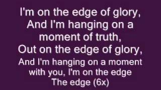 Lady Gaga - Im on the Edge of Glory (Lyrics)