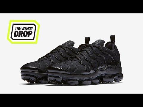 sports shoes b7a7b e3e3b Nike Vapormax Plus  Triple Black  Australian Sneaker Release Info  The  Weekly Drop - Complex AU