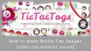 How To Make Bottle Cap Images