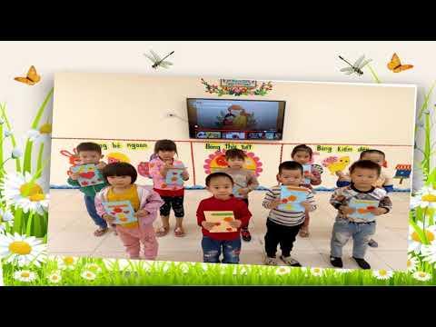 Chúc mừng 20/10 của các bé 4B3 trường MN Tân Tiến