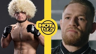 Reactions To Conor McGregor vs Khabib Nurmagomedov Fight & The Fireworks Afterwards
