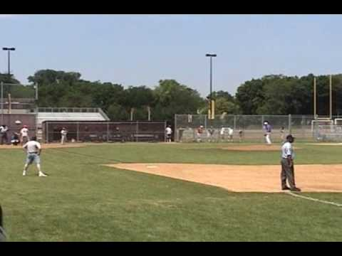 Jeremy Salzman Pitching Video- McHenry Hurricanes