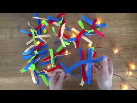 Video v článku Vánoční světelný řetěz