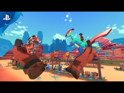 Dino Frontier - Gameplay Trailer | PSVR thumbnail