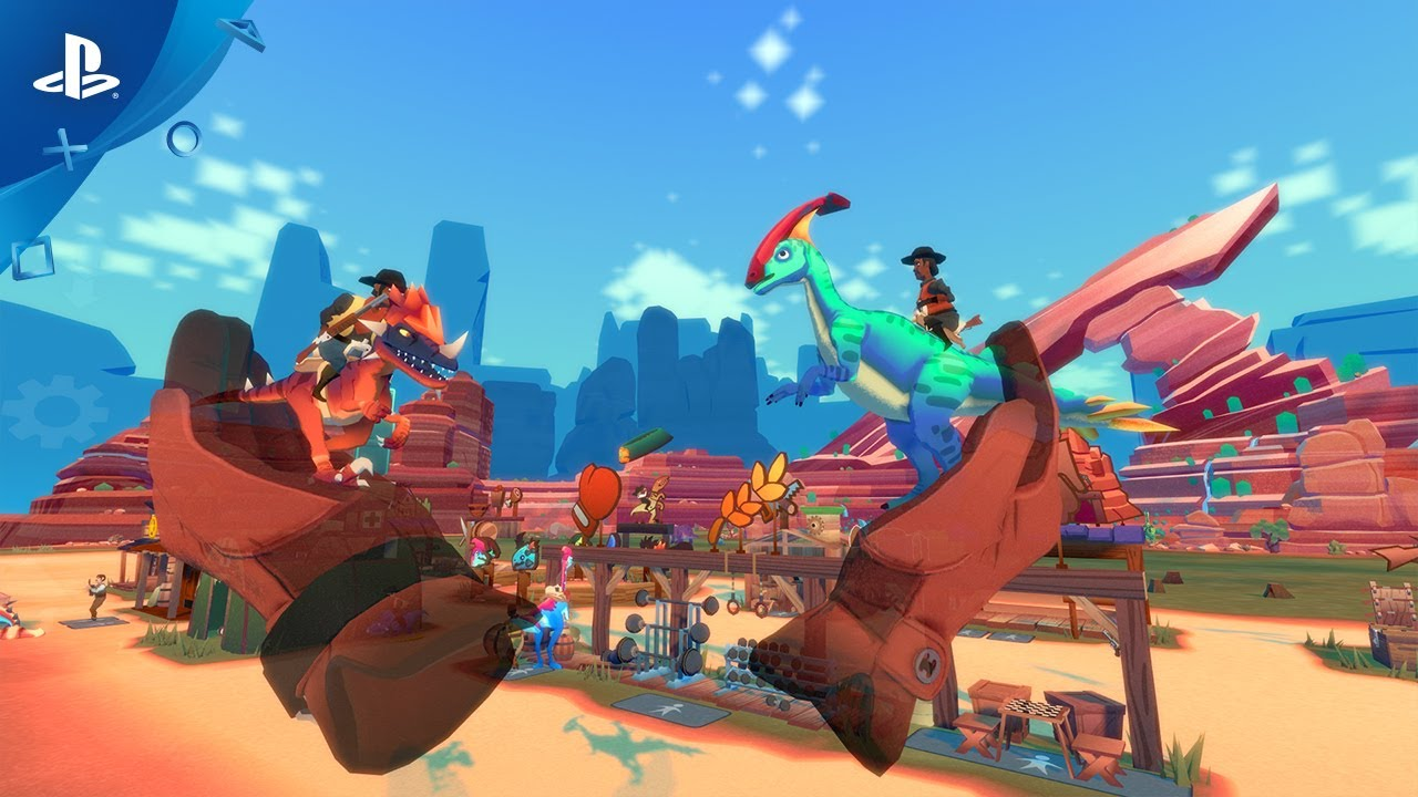 Dino Frontier Launches August 1 on PS VR