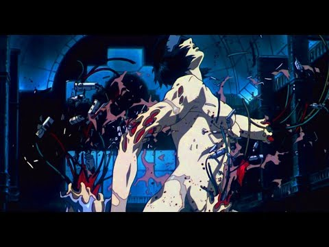 Ghost In The Shell (1995) - Major vs Tank